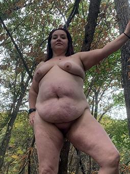 matured bbw saggy tits tease