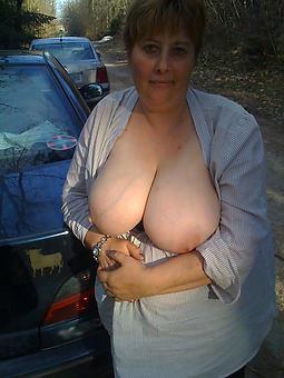 grown up ladies with beamy breasts unorthodox porn
