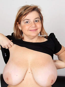 mature ladies connected with chubby breasts stripping