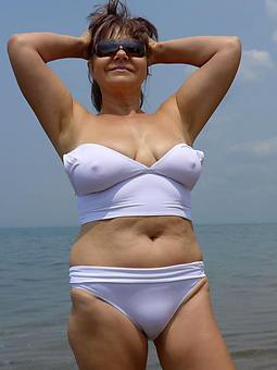 mature ladies in bikinis stripping