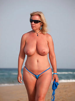 mature gentlefolk upon bikinis tease