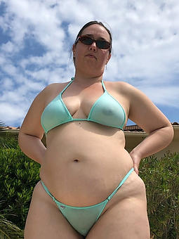 fat lady in bikini increased by tranquillity sexy