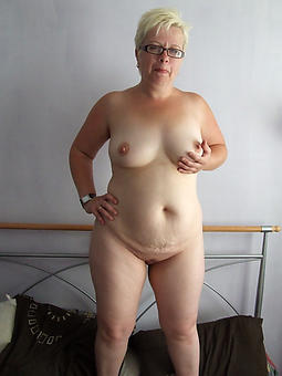 perfect mature blonde not far from stockings pics