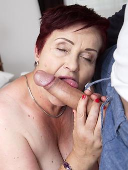 mature ladies renowned blowjobs