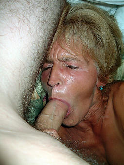 beautiful mature blowjob handjob