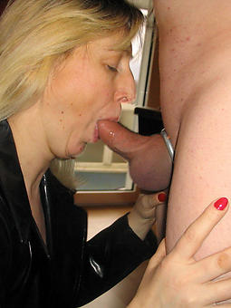 mature housewife blowjob pic