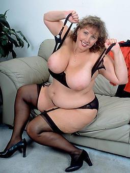 naked chap-fallen fat mature ladies line