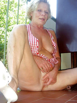 hot grandmas and unagitated sexy