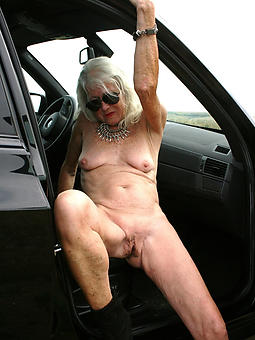 vacant grandma blandishment