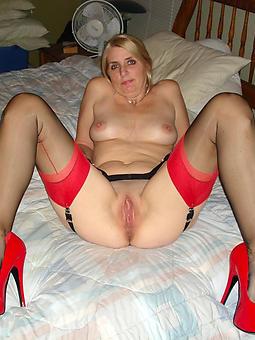 mature ladies in high heels seduction