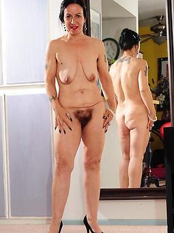 bared mature women heels strip