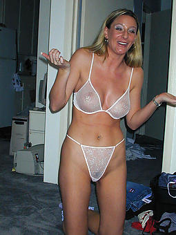 mature little one in lingerie porn peel