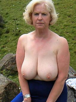 grown-up ladies fat boobs tease