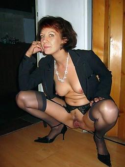 mature ladies in stockings and suspenders strip