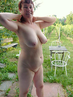 old lady solo porn pic