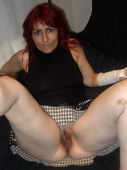 defoliate grown up redhead get hitched stripping