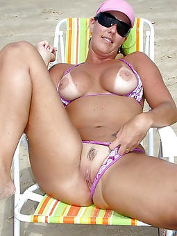 mature bikini babes tease