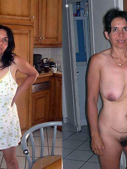 porn pictures of ladies dressed coupled with undressed