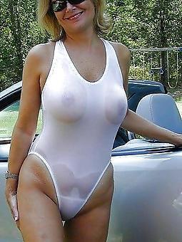 mature bikini moms stripping