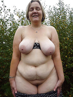 amature mature saggy breasts photo