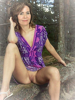 wild grown-up woman upskirt