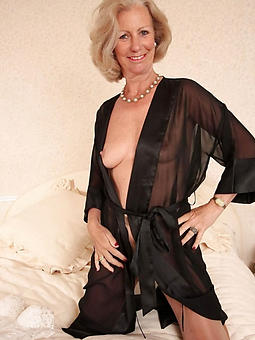 scanty classy mature lady cajolery