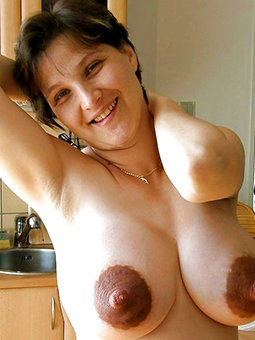 full-grown mom tits tease