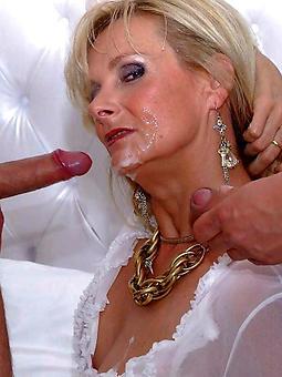 hotties naked old lady cumshot photo