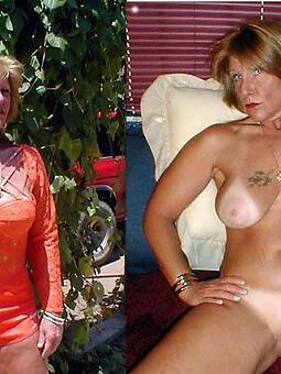 hotties mom dressed vs undressed