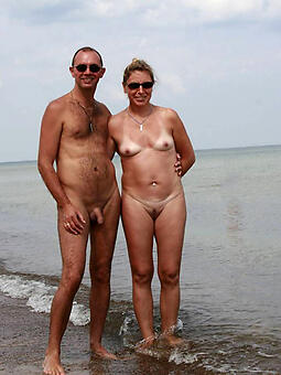 hot old lady on beach amateur unconforming pics