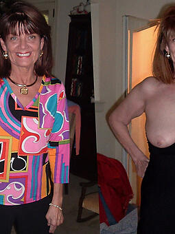 natural hot women dressed then undressed