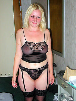 perfect mature lady on every side lingerie