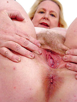 sexy old woman pussy free photo