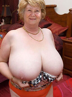 flawless superannuated ladies with big knockers nude