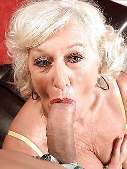cougar maw gives blowjob