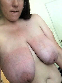 ideal old lady boobs