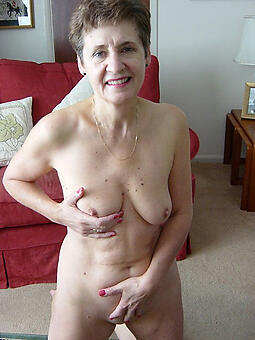 off colour nude grandma stripping