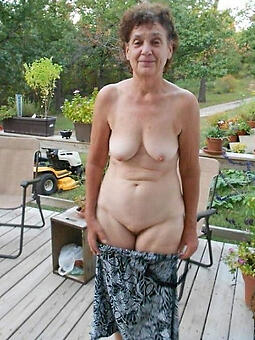 amature in the altogether mature grandma