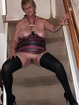 older grown up pussy stripping