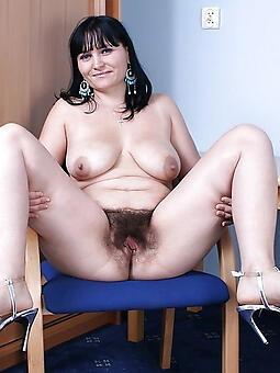 hairy senior ladies unconforming naked pics