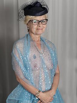 pretty bare mom with glasses