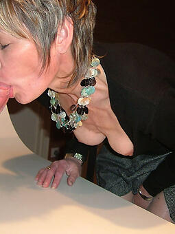 sexy superannuated lady blowjob