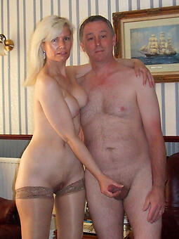 mature couple nude stripping